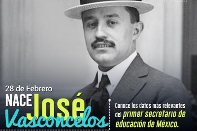 ¡Conoce a José Vasconcelos! Primer secretario de educación en México