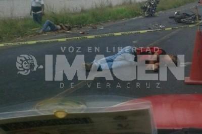 Trágico accidente en carretera La Tinaja- Veracruz
