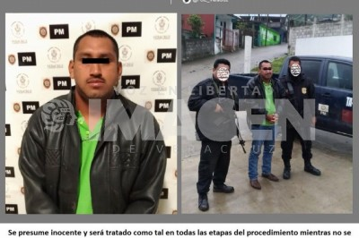 Deteniendo al responsable de un asesinato en Chicontepec
