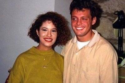 Comparten foto de Selena y Luis Miguel