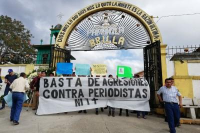 Con protesta de periodistas, exigen justicia para Leobardo
