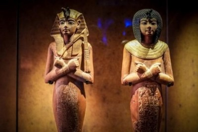 Exhiben riquezas egipcias