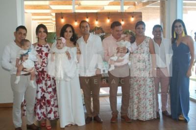 Bautizo para recordar: Paulina, Santiago y Diego Fernández Jiménez reciben el primer sacramento