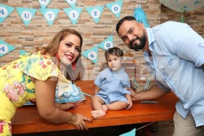 Iniciación católica: Alonso Cabrera Rocha recibe el bautizo