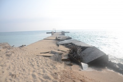 Isla de Enmedio sufre grave deterioro, advierten
