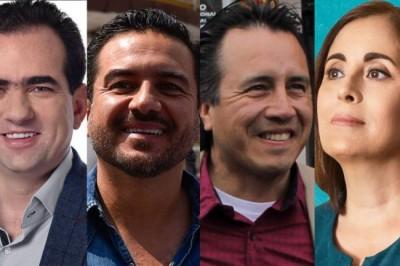 Candidatos a gobernador de Veracruz miden su trayectoria académica
