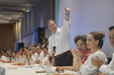 'Pepe Yunes, el próximo Gobernador de Veracruz': José Antonio Meade