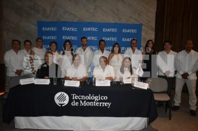 Nueva directiva: Toma protesta Eduardo Lugo como presidente de la asociación Exatec Veracruz