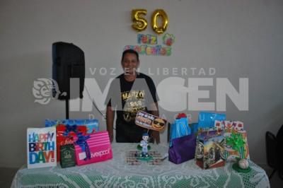 50 Primaveras: Héctor Luis Díaz Rosas festeja cumpleaños