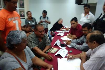 Por error de funcionarios, cancelan obras en colonia de Poza Rica