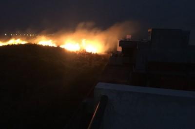 Incendios de pastizales en Riviera Veracruzana serían provocados