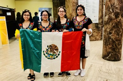 Mexicana triunfa en Olimpiadas Europea de matemáticas