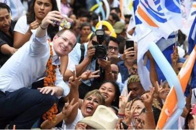 Celebra Anaya aniversario de la detención de Javier Duarte