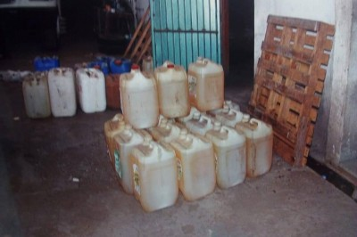 Mediante cateo aseguran más de 3mil litros de hidrocarburo en Veracruz