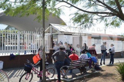 Un llamado a las autoridades hicieron padres de familia de la escuela 'Ricardo Flores Magón'