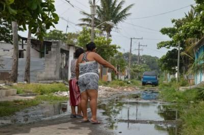 Habitantes de Boca del Río están sumidos en la desgracia