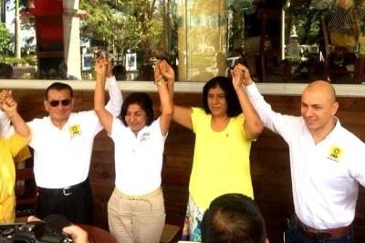 Se reincorpora Yazmín copete a su campaña; exige rescate al campo sin privilegios partidistas
