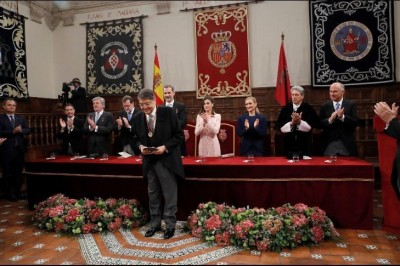 Recibe Sergio Ramírez el Premio Cervantes