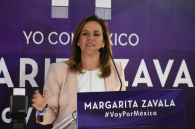 Margarita Zavala pedirá el voto en Veracruz el próximo sábado