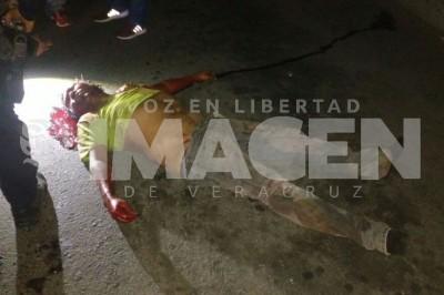 Muere tras ser atropellado en la carretera de Nuevo Veracruz
