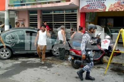 Percance automovolístico en el Coyol