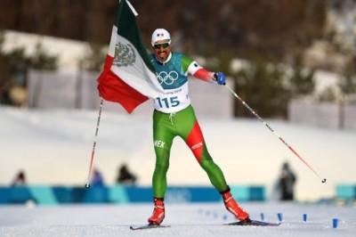 El atleta mexicano que dejó huella en PyeongChang al ritmo de Vicente Fernández