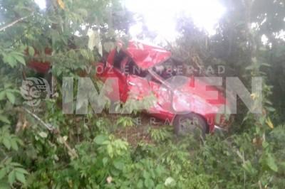 Muere menor en accidente automovilístico en Uxpanapa