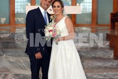 UN CAMINO JUNTOS: Martha de Leo López y José Fernando Sosa Zamudio se unen en matrimonio