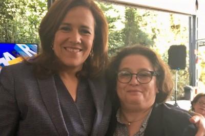 """Excolaboradora de Margarita Zavala se une al equipo de AMLO; """"no quiero lo mismo"""" con Anaya o Meade, dice"""