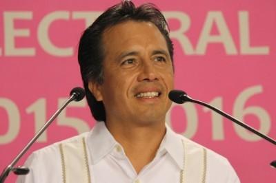 Cuitláhuac García Jiménez se considera el ganador del Primer Debate