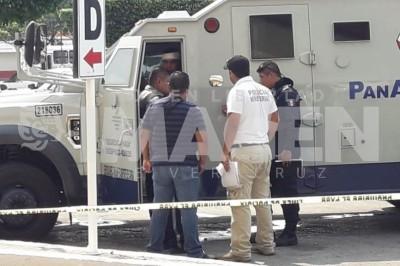Asaltó a una camioneta de la empresa Panamericano