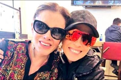 Se reconcilian Yuri y Lucía Méndez
