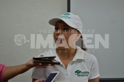 El 80% de los alumnos del Conalep continúan con sus estudios:  Mirna Dalila Contreras Hernández