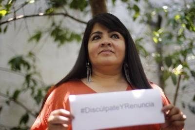 Usuarios en redes sociales 'respaldan' a Nestora Salgado