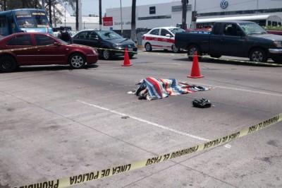 Muere atropellada por un urbano en la avenida Díaz Mirón