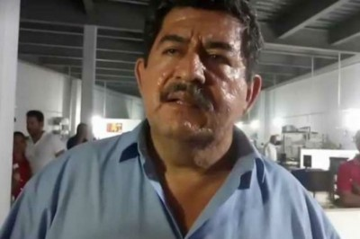 Candidato Lázaro Mendoza fue amenazado con arma de fuego en Acayucan