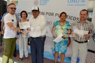 Celebran en Tuxpan, el Día Mundial del Medio Ambiente