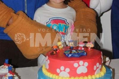 RESCATAN LA DIVERSIÓN: Carlos Antonio Merino Bañuelos cumple 3 años de edad