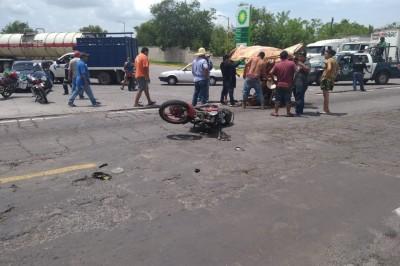 Atropellado en La Tinaja-Tierra Blanca