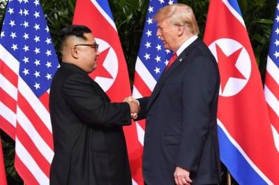Cumbre Trump-Kim: Histórico apretón de manos en Singapur