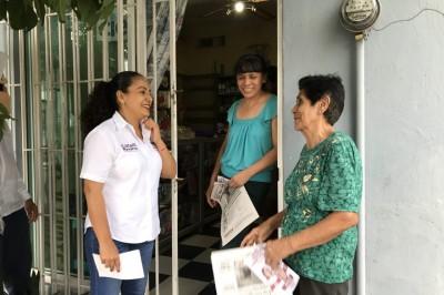 Dignificar calidad de vida de los veracruzanos: Citlalli Navarro