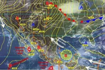 Continuarán tormentas y lluvias muy fuertes en el centro y sur del país: SMN