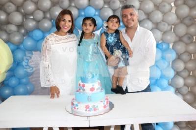 FIESTA CONGELADA: Sofía Poireth Ortiz cumple seis años de edad