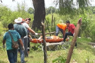 Encuentran cuerpo en el río Bobos