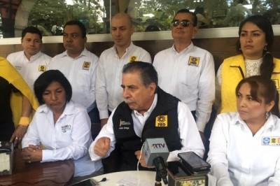 Minimiza PRD señalamientos de corrupción en contra de candidatos del PAN