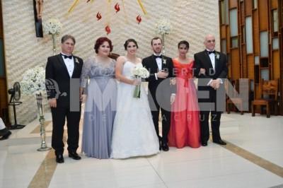 UNIDOS PARA SIEMPRE: Giovana Garelli y Pablo de Robina Duhart se desposan
