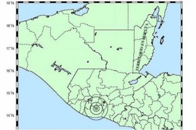 Sismo de magnitud 5.6 remece Guatemala en la noche del domingo