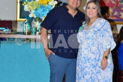 ESPERA PRIMOGÉNITO: Melissa Martínez Mange protagoniza baby shower