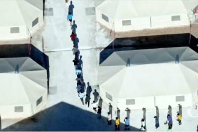 EU abre nuevo centro de detención para menores en Texas