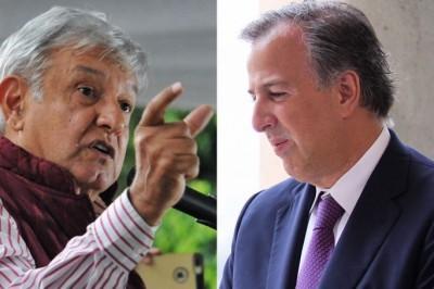 AMLO y Meade se disputarían la elección presidencial